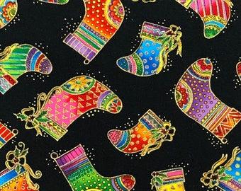 Laurel Burch Christmas Bountiful Blessings OOP Fabric #90355-1M