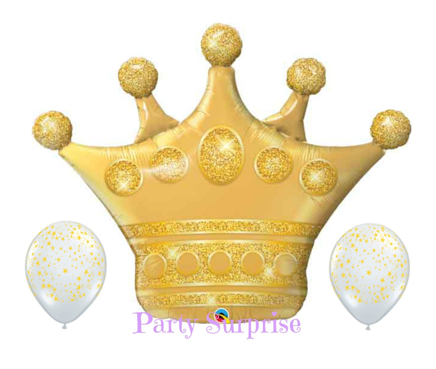 """Crowns For Baby Shower: Gold Crown 41"""" Balloon Baby Boy Baby Girl Baby Shower"""