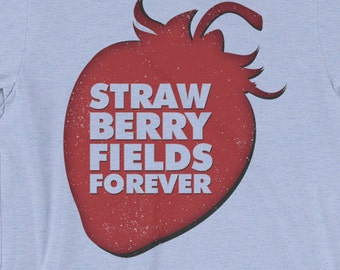 Strawberry Fields Forever T-shirt I Am The Walrus Glasses Beatles