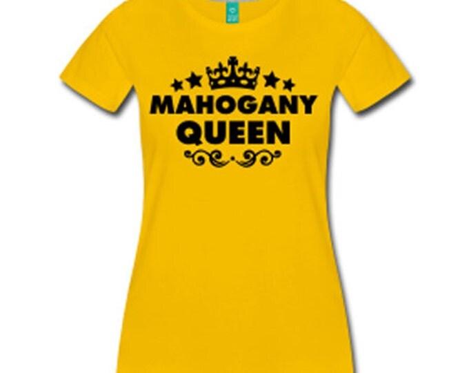 Mahogany Queen Wide Neck Off Shoulder Slouchy Women's Sweatshirt - Yellow