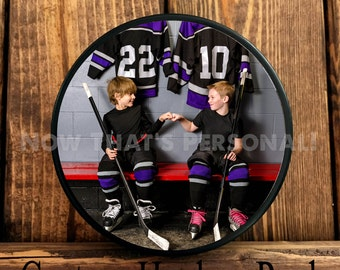Photo Hockey Puck, Hockey Puck - your photo on a hockey puck, custom hockey puck, personalized hockey puck, custom hockey puck , ice hockey