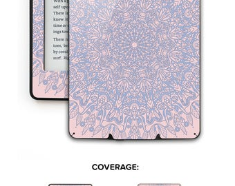 Serenity Rose Mandala Kindle Case Alternative Kindle Cover Kindle Paperwhite Cover Kindle Skin Kindle Fire Voyage # Serenity Mandala 2