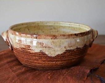 Baking dish, serving bowl, pasta bowl, bread baking dish, casserole dish, mixing bowl, kitchen bowl, handmade bowl