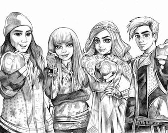 Original Sketch Descendants