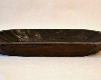 Dark Wooden Tray