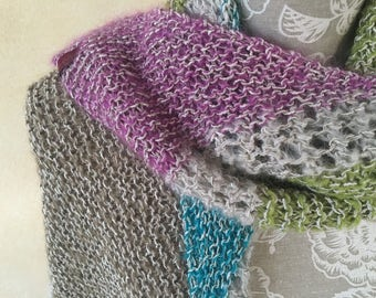 """Knitted scarf """"Autumn"""""""
