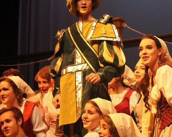 Renaissance Town Crier - Lord Pinkleton from The Broadway Cinderella