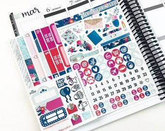 Sparkle // Ultimate Weekly Planner Kit (280+ Planner Stickers)