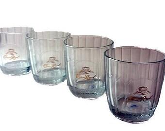 Crown Royal Rocks Glasses S/3