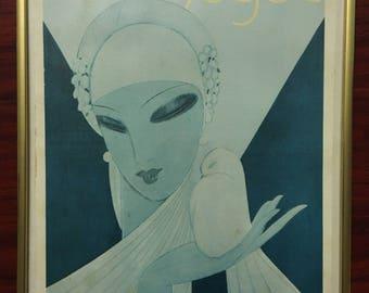 Vintage VOGUE Print (April 1 1927)