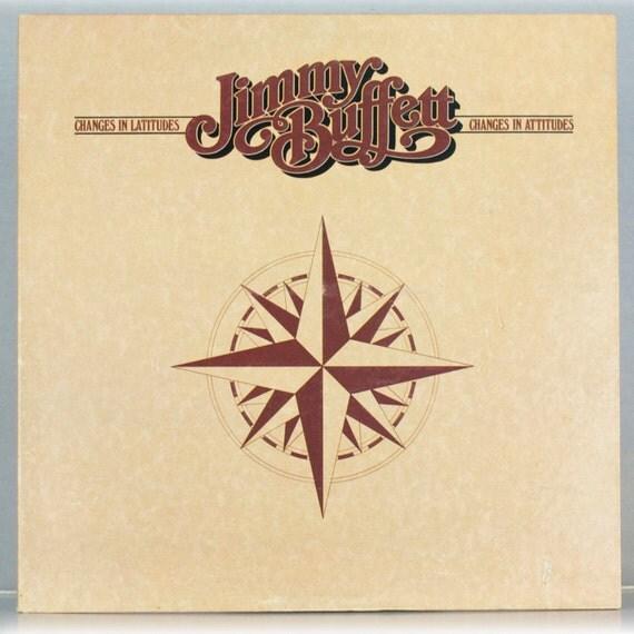 Jimmy Buffett - Changes in Latitudes, Changes in Attitudes Album ABC Records 1977 Original Vintage Vinyl Record