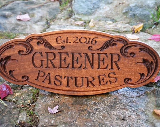 Custom Wood Sign Custom Wood Outdoor Sign Custom Carved Sign Custom Wood Sign Carved Wood Sign Custom Carved Wood Sign