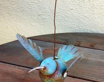 Metal Bird Garden Art Sculpture