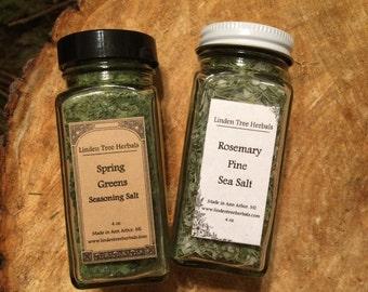 Herbal Seasonings Box // Wildcrafted Botanical Seasoning Salts