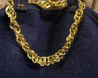 Napier Gold-Tone Two-Way Necklace Chain