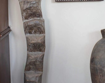 Authentic Vintage Dogon African Ladder