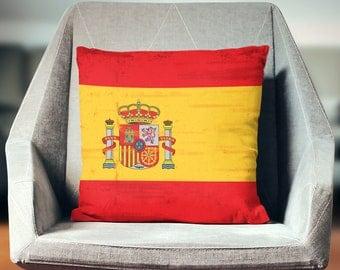 Spanish Pillow   Spain Pillow Spanish Pillow Case   Spanish Throw Pillow   Spanish Pillow Cover   Spanish Cushion   Spanish Décor