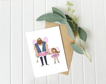 dad birthday card, father daughter card, daddy birthday card, fathers day gift ideas, from daughter card, fathers day card