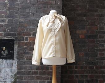 SALE Vintage 1980s Prairie Blouse | 1970s Prairie Style Blouse