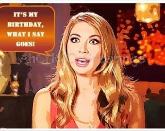 Birthday Princess Birthday Card