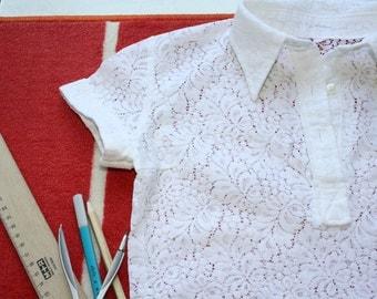 Beautiful Delicate White Top for kids/teen girls