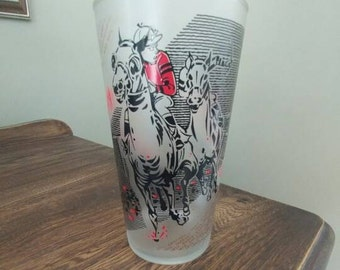 1961 Kentucky Derby glass-Churchill Downs