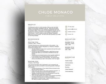 a template for a resumes
