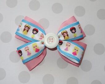 Princess Inspired Hair Bow
