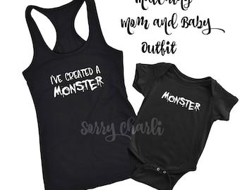 Matching Monster Parent & Child Set