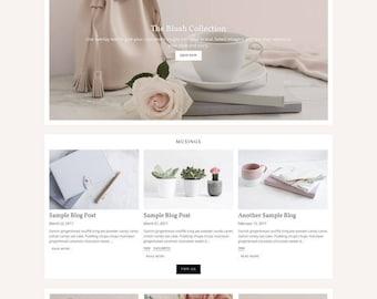 Shopify Responsive Theme Design - Harper
