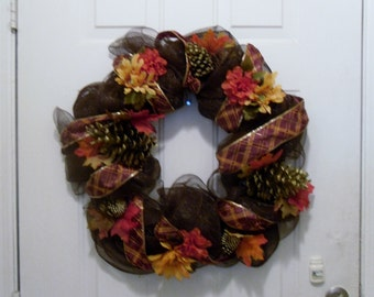 Autumn Foliage Wreath