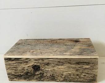 Barnwood Keepsake Box