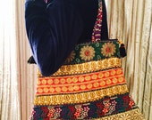 Tote Bag Shoulder Bag Boho Bag Hippie bag Vintage Bag Handmade Bag Floral Bag Tribal Bag Gift idea Antique Bag London Bag Handbag