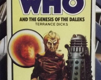 Target Paperbacks Present Doctor Who and The Geneisi of the Daleks 1980