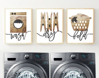 8x10 11x14 Laundry Room Print - Laundry Room Print, Laundry Room Art, Laundry Room Poster, Laundry Wall Art, Laundry Decor, farmhouse decor