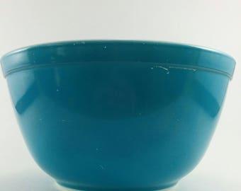 Vintage Pyrex Blue Horizon 402 1.5 quart Nesting Mixing Bowl HTF Replacement Horizon Blue Art Deco