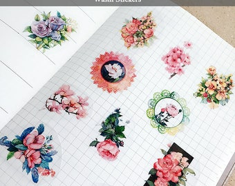 Washi Stickers (3 style)- price for 1 page
