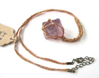 Colgante FLUORITA violeta - Envío GRATIS