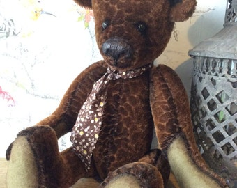 Maximus, 1OAK Artist Bear made from mohair