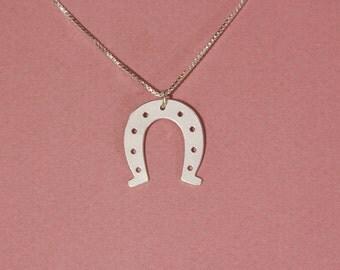 Horse shoe necklace shoe horse necklace silver horse shoe necklace horseshoe necklace silver horseshoe silver necklace
