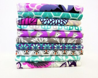 Organic Handkerchief -Ladies Hankerchief Set 100% Cotton Flannel Hankies -Womens Hankies Reusable Tissues Flannel Tissues Mother's Day Gift