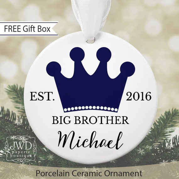 Big Brother Christmas Ornament Part - 17: Like This Item?