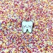 Tooth Pin - Dental Nurse Gift - Dentist Gift - Tooth Gift - Dental Hygienist Gift - Cute Tooth Pin - Dental Gifts - Dental Graduation Gift