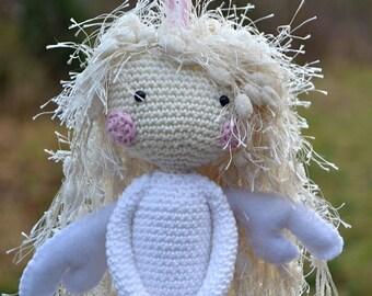 Crochet pattern - Crochet Angel - Guardian by VendulkaM / DIY, pdf