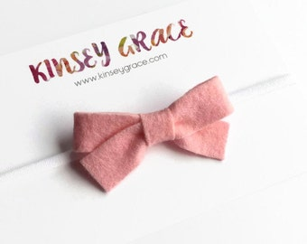 Baby Bow, Baby Headbands, Baby Girl Headbands, Newborn Headbands, Felt Headbands, Headbands, Girls Headband, Baby Bow Headband, Baby Girl