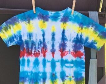 Tie Dyed Kids Shirt