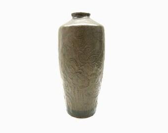Art Nouveau Stoneware Vase