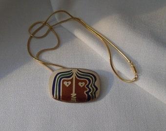 Brooch and pendant PASSILLÉ SYLVESTRE (124)