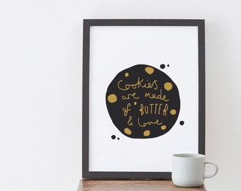 A4 Cookie Print - Baking print