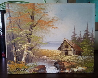 """Vintage Oil Painting  